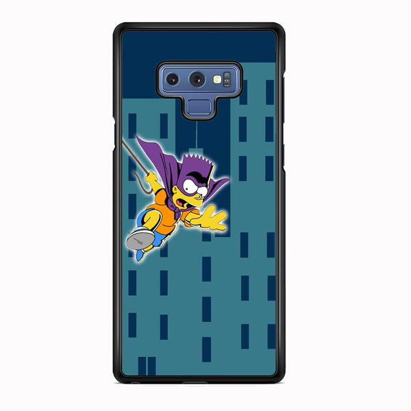 Simpson Fly From Building Samsung Galaxy Note 9 Case