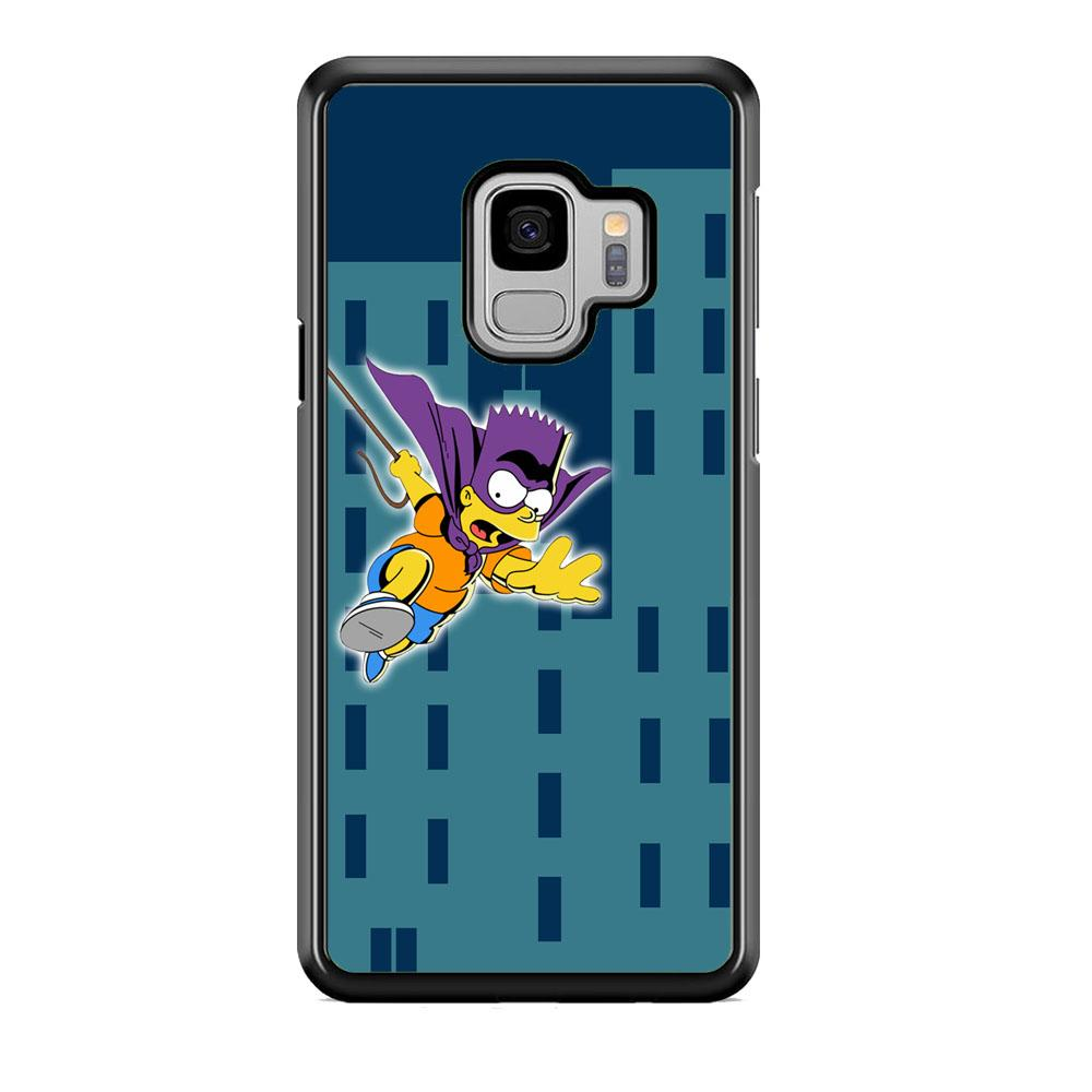 Simpson Fly From Building Samsung Galaxy S9 Case