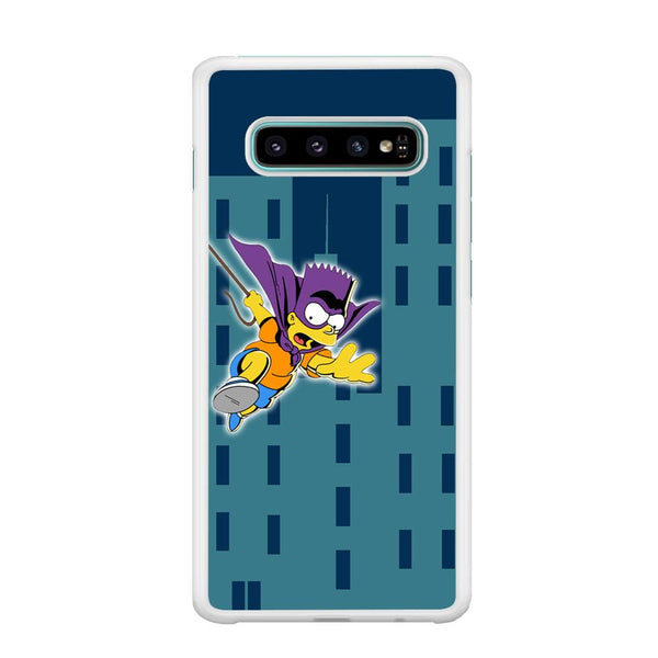 Simpson Fly From Building Samsung Galaxy S10 Case