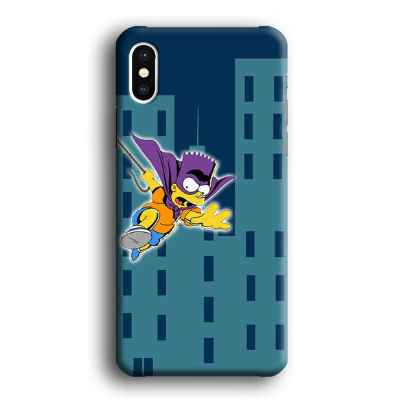 Simpson Fly From Building iPhone XS MAX Case