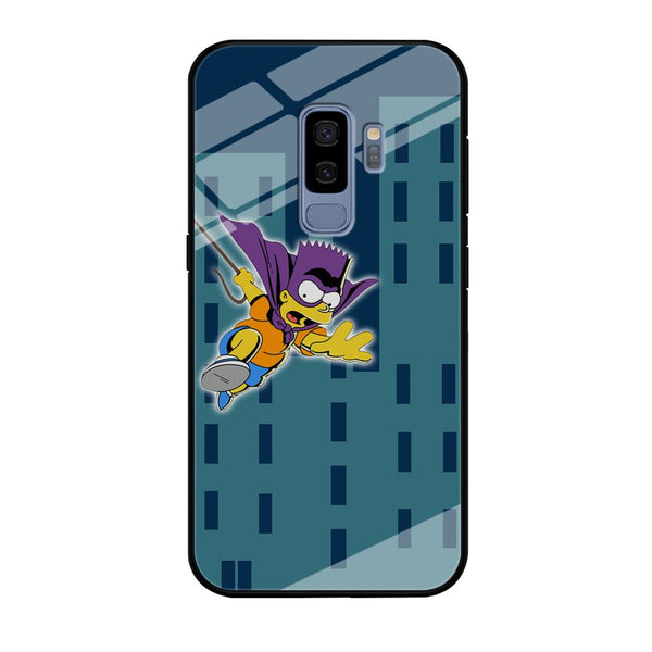 Simpson Fly From Building Samsung Galaxy S9 Plus Case