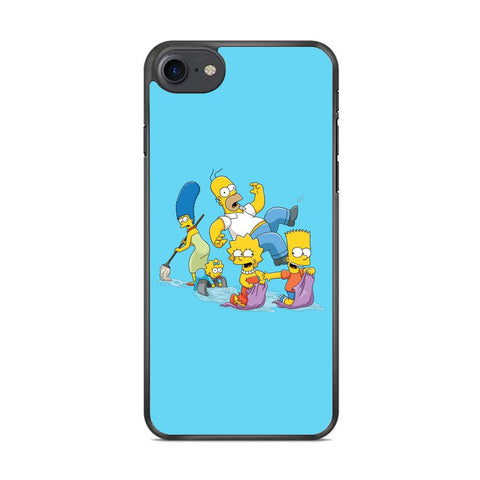 Simpson Happy Family iPhone 7 Case