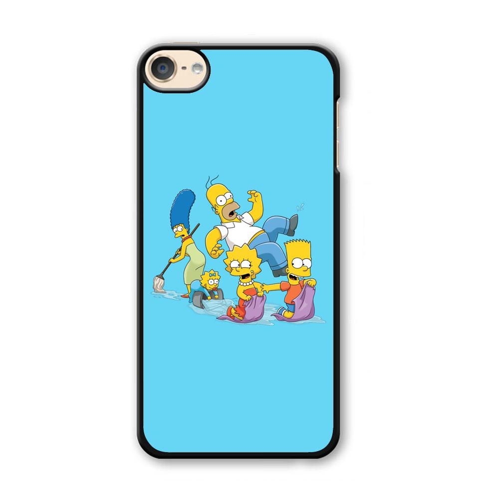 Simpson Happy Family iPod Touch 6 Case