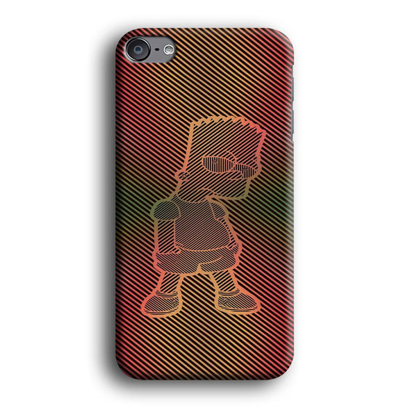 Simpson Stripe Picture iPod Touch 6 Case