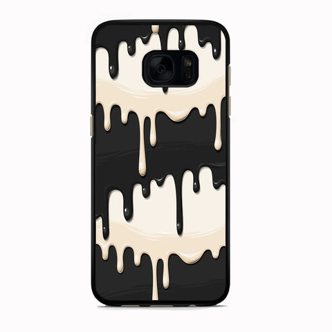 Slime Black Melt Vanilla Samsung Galaxy S7 Case