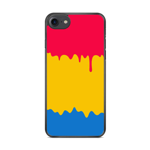 Slime Three Primary Colour iPhone 8 Case
