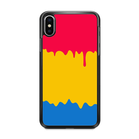 Slime Three Primary Colour iPhone XS MAX Case