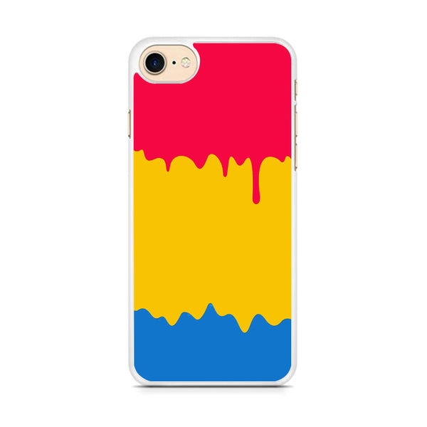Slime Three Primary Colour iPhone 7 Case