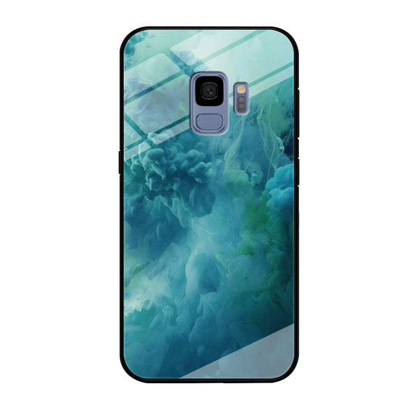Smoke Sky Blue Cloud Samsung Galaxy S9 Case