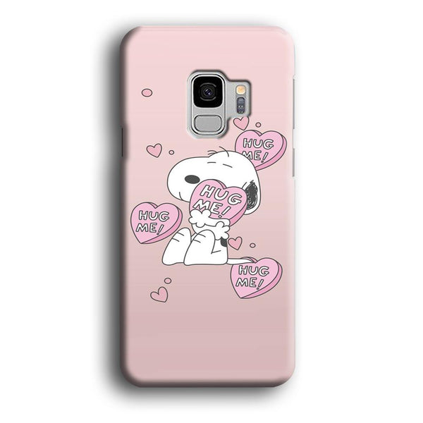 Snoopy Want A Hug Samsung Galaxy S9 Case