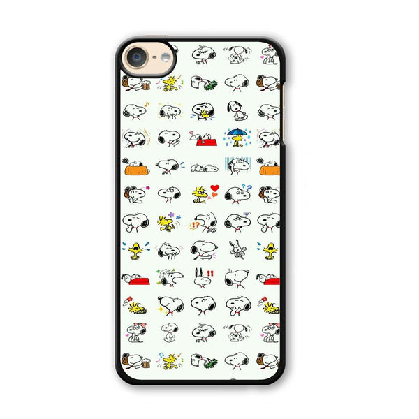 Snoopy White Emoji iPod Touch 6 Case