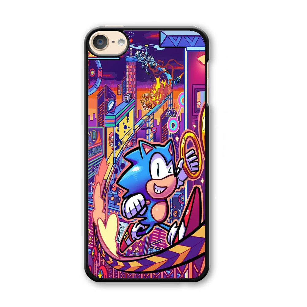 Sonic World Wallpaper iPod Touch 6 Case
