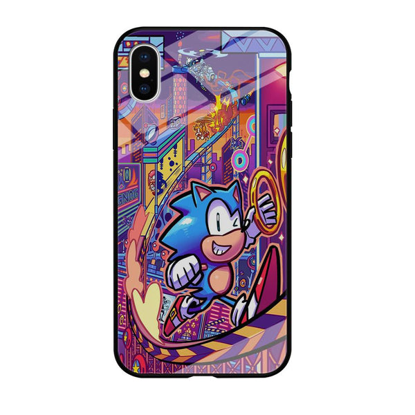 Sonic World Wallpaper iPhone X Case