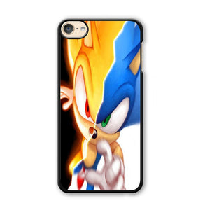 Sonic Zoom Two face iPod Touch 6 Case