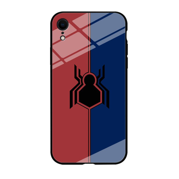 Spiderman Amazing Logo Red And Blue iPhone XR Case