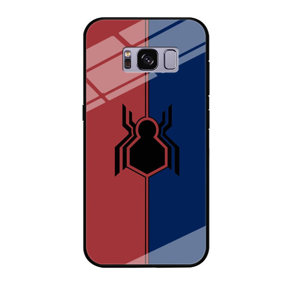 Spiderman Amazing Logo Red And Blue Samsung Galaxy S8 Plus Case