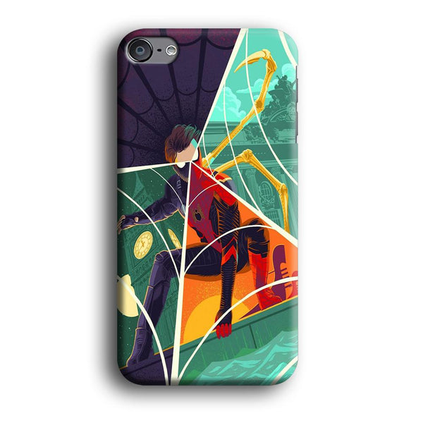 Spiderman Amazing Variation Cartoon Character iPod Touch 6 Case
