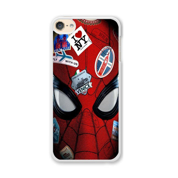 Spiderman Head Full Stickers iPod Touch 6 Case