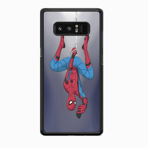 Spiderman Selfie While Hanging Samsung Galaxy Note 8 Case