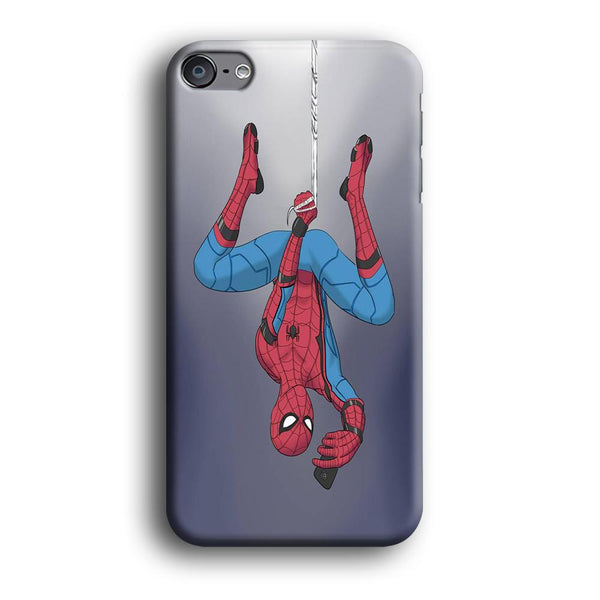 Spiderman Selfie While Hanging iPod Touch 6 Case