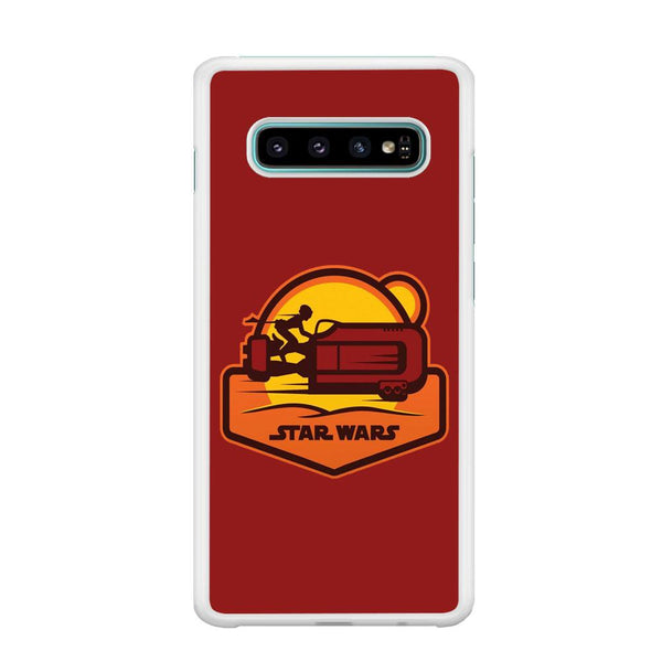 Star Wars Message and Code Samsung Galaxy S10 Plus Case