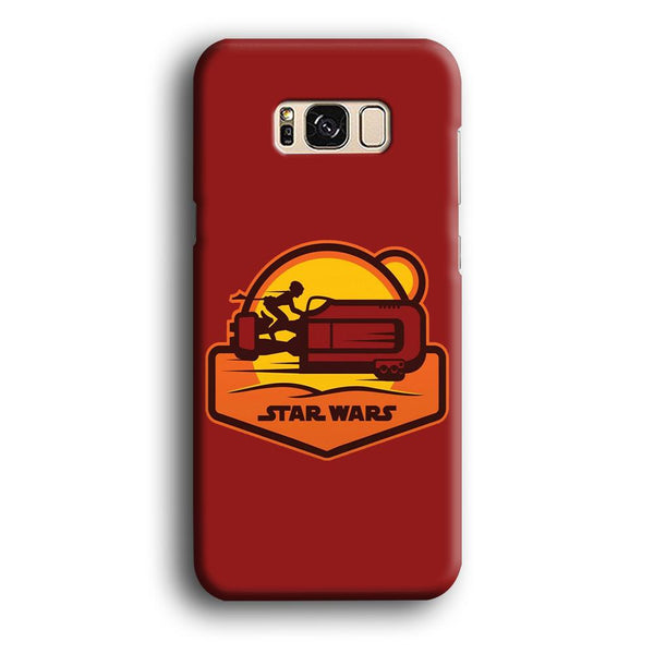 Star Wars Message and Code Samsung Galaxy S8 Plus Case