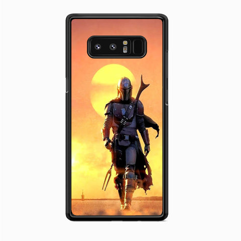 Star Wars The Mandalorian Samsung Galaxy Note 8 Case