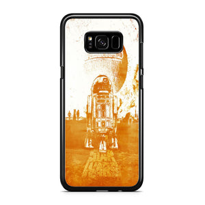 Starwars Droid Art Wallpaper Samsung Galaxy S8 Case
