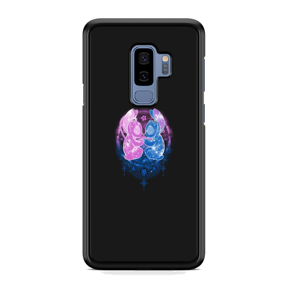 Stitch And Angel Yoga Style Samsung Galaxy S9 Plus Case