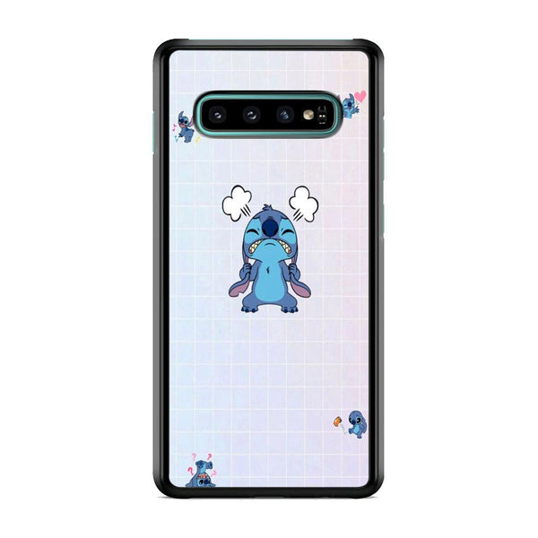 Stitch Angry Style Samsung Galaxy S10 Plus Case
