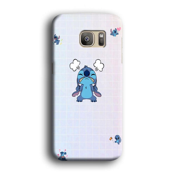 Stitch Angry Style Samsung Galaxy S7 Edge Case