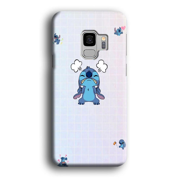 Stitch Angry Style Samsung Galaxy S9 Case