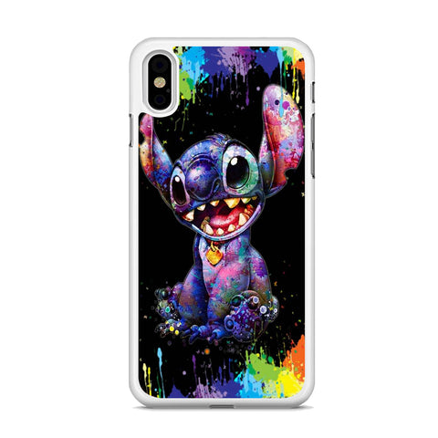 Stitch Paint Splash iPhone XS MAX Case