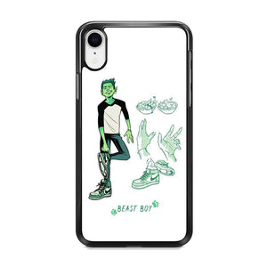 Teen Titans Beast Boy Equipment iPhone XR Case