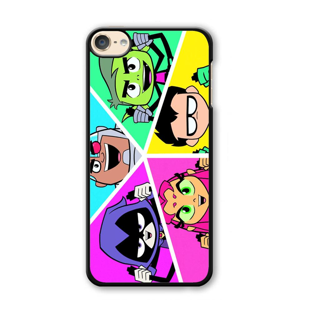 Teen Titans Heroes Family iPod Touch 6 Case