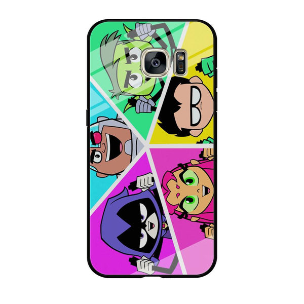 Teen Titans Heroes Family Samsung Galaxy S7 Edge Case