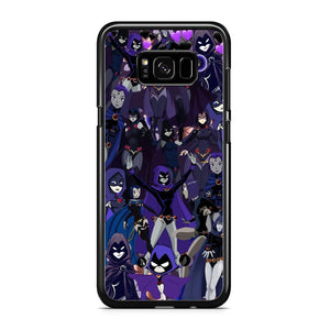 Teen Titans Raven Wallpapers Samsung Galaxy S8 Case
