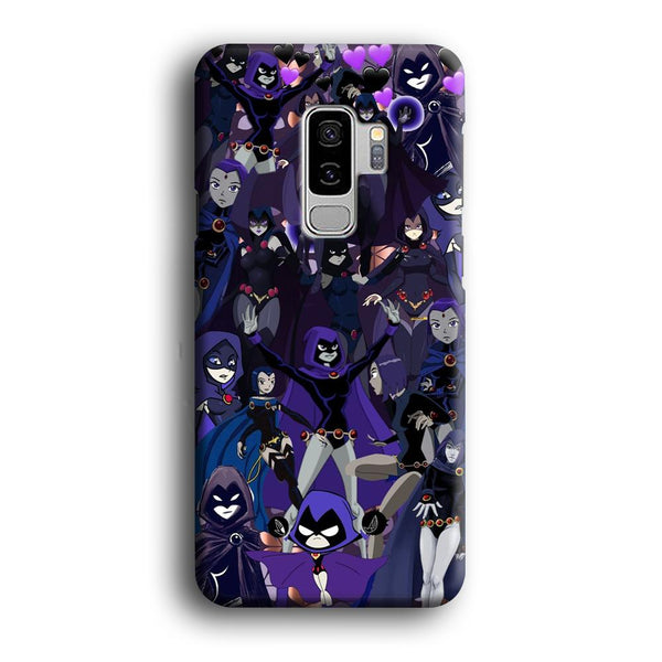Teen Titans Raven Wallpapers Samsung Galaxy S9 Plus Case