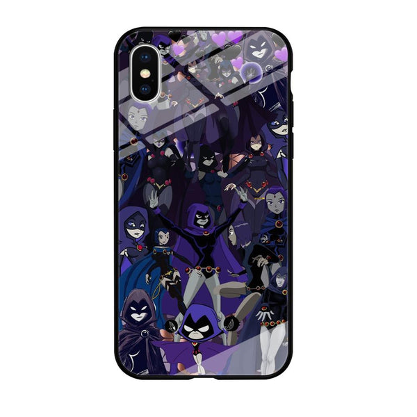 Teen Titans Raven Wallpapers iPhone XS MAX Case