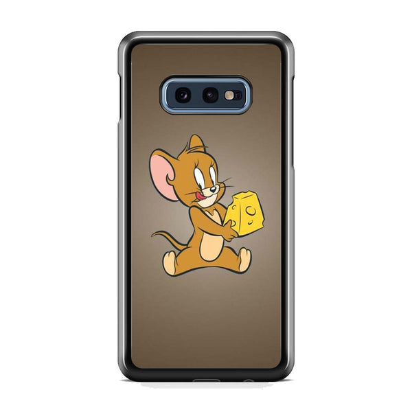 Tom And Jerry Enjoy With Cheese Samsung Galaxy S10E Case