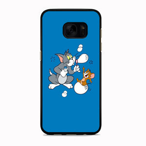 Tom And Jerry Playing Ballon Soap Samsung Galaxy S7 Case