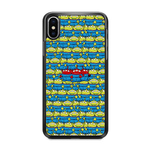 Toy Story Green Alien Populace iPhone XS Case