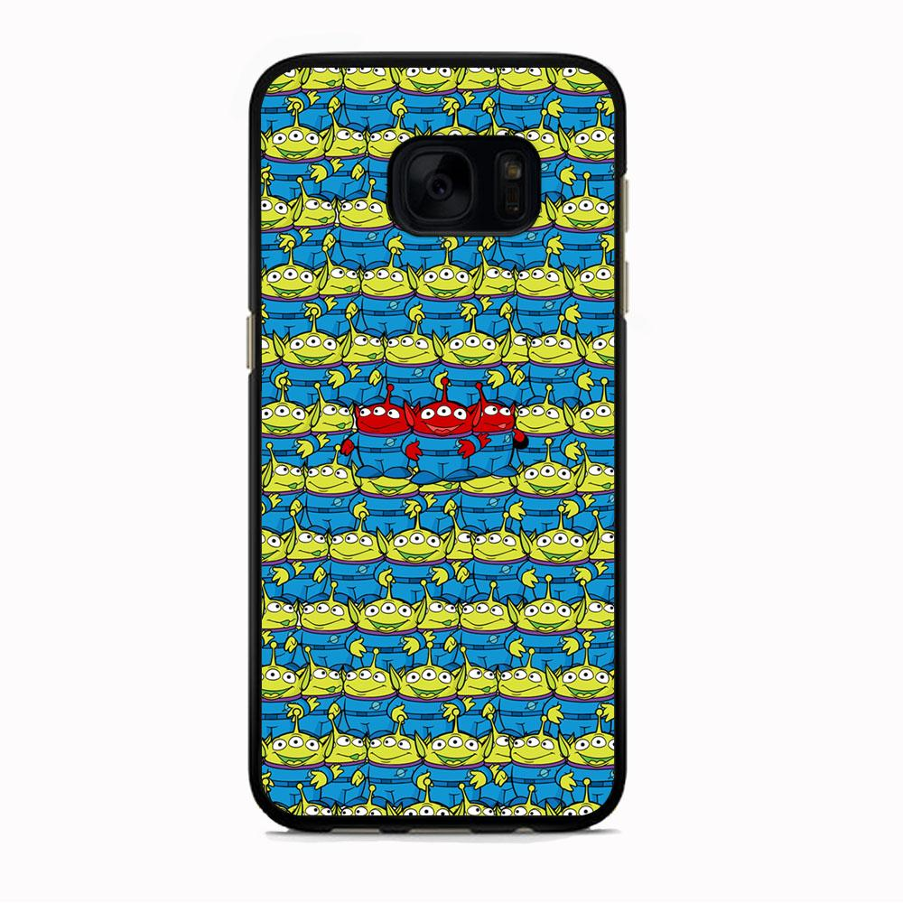 Toy Story Green Alien Populace Samsung Galaxy S7 Case