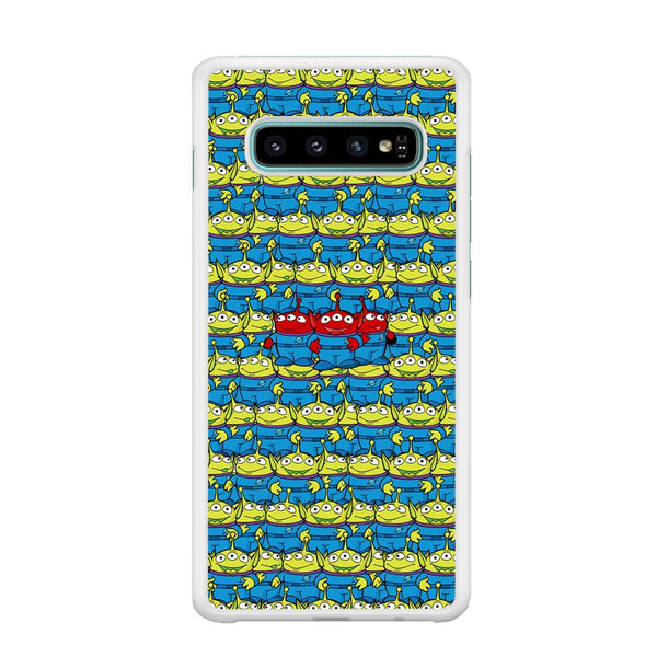 Toy Story Green Alien Populace Samsung Galaxy S10 Plus Case