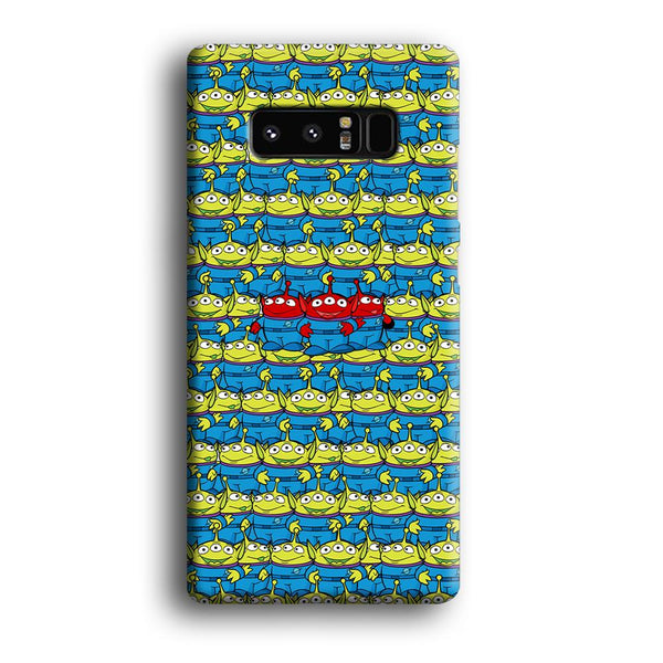 Toy Story Green Alien Populace Samsung Galaxy Note 8 Case