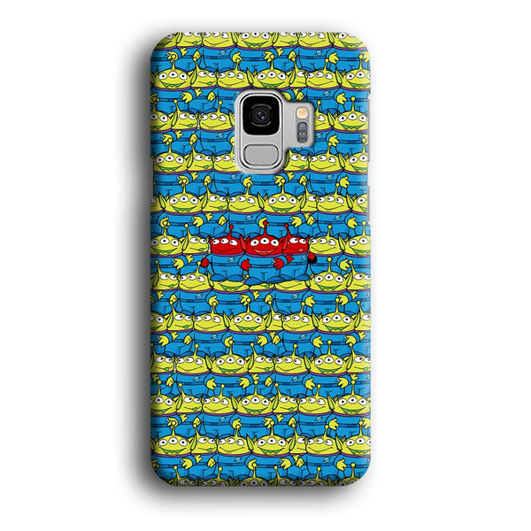 Toy Story Green Alien Populace Samsung Galaxy S9 Case