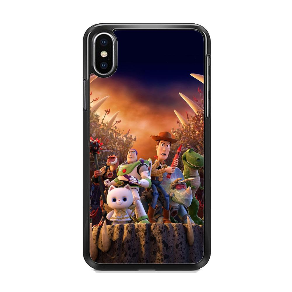 Toy Story The Time Forgot Wallpaper iPhone XS Case