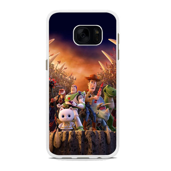 Toy Story The Time Forgot Wallpaper Samsung Galaxy S7 Case