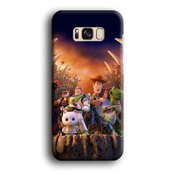 Toy Story The Time Forgot Wallpaper Samsung Galaxy S8 Case