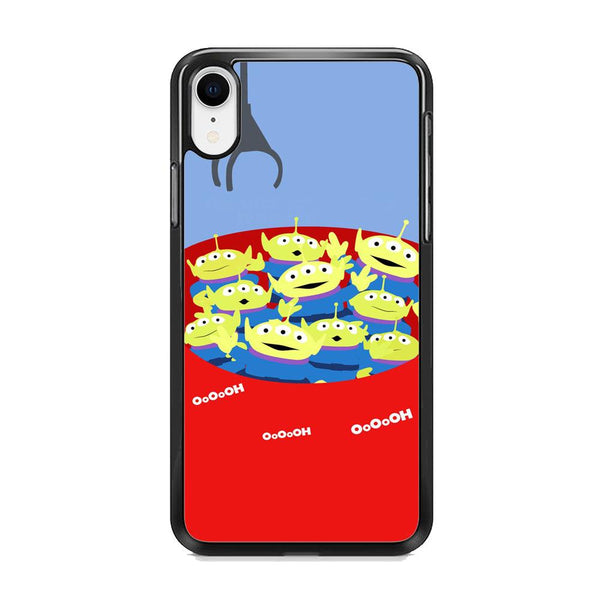 Toy Strory Geen Alien Happy With Claw Toy iPhone XR Case